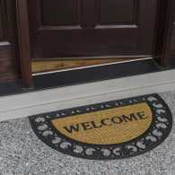 Guideposts: A welcome mat at a house's front door