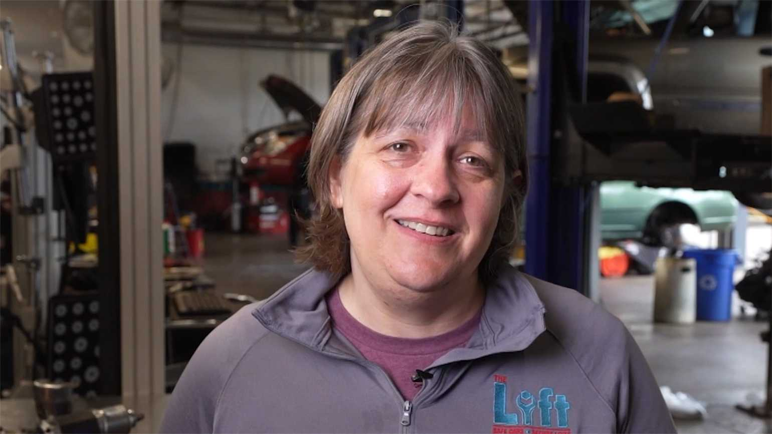 Cathy Heying, founder of Lift Garage;video by Matthew Gilson