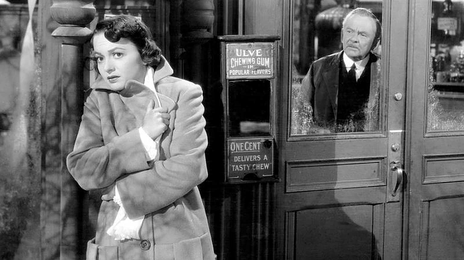 Olivia de Havilland in a scene from TO EACH HIS OWN