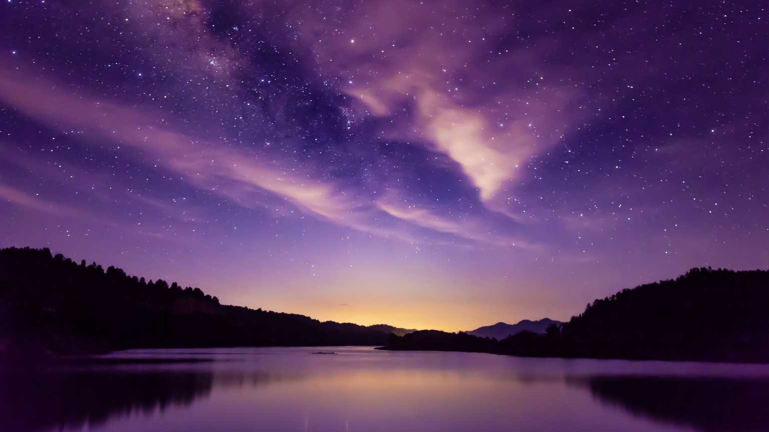 Milky way and Starry sky scene (Getty Images)