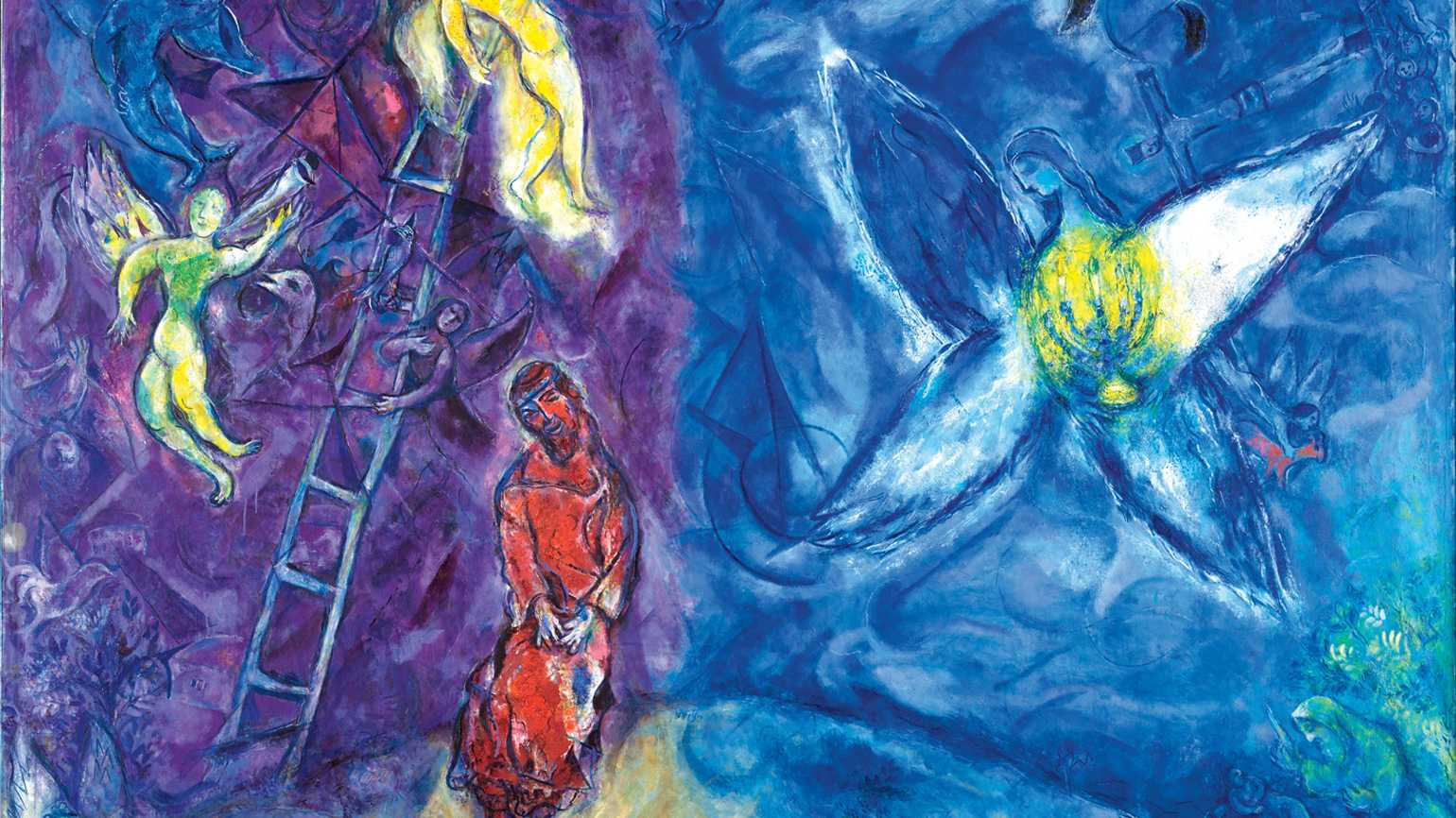 Marc Chagall's 1966 painting Jacob's Dream