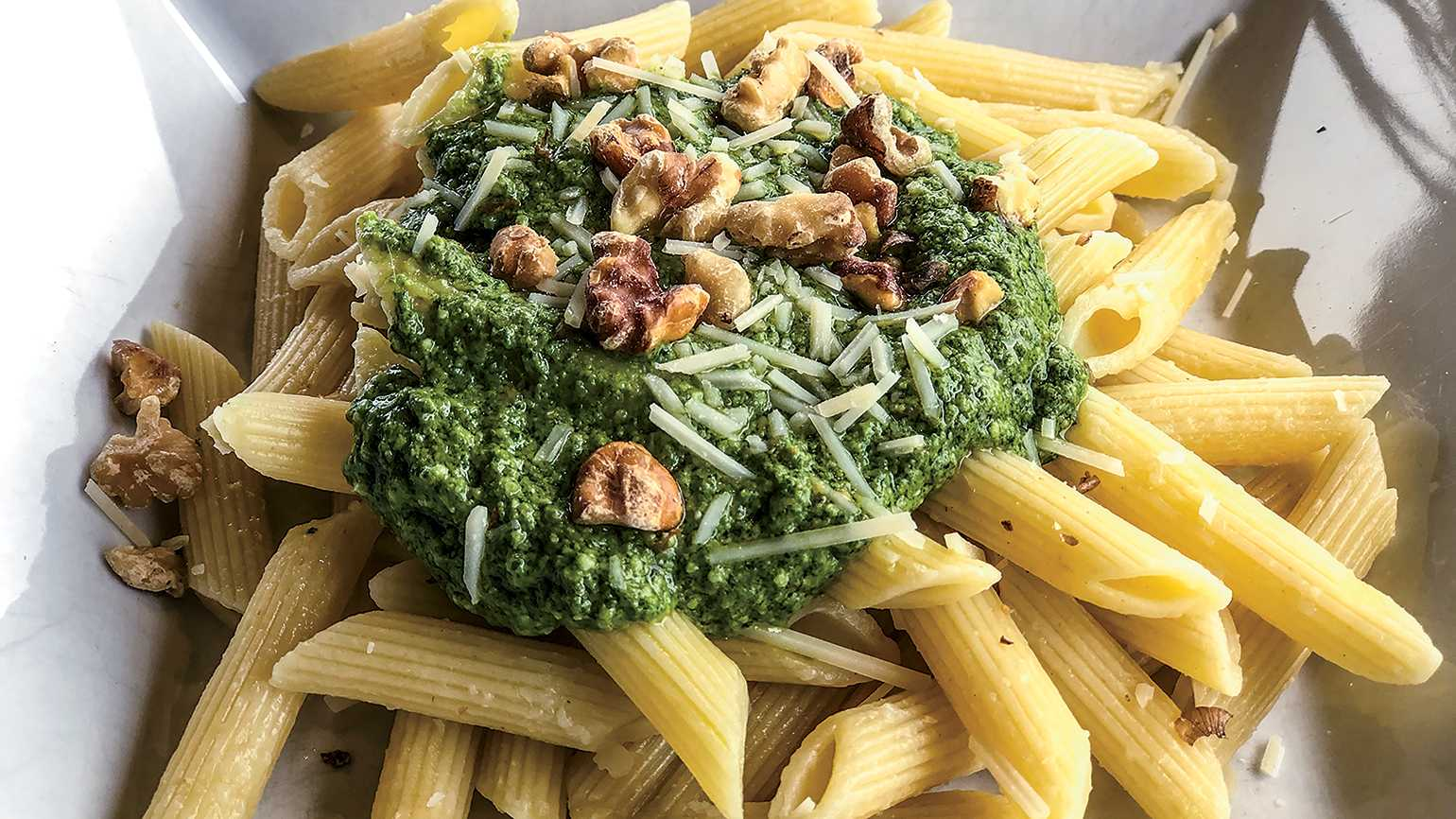Otto's Green Pesto; photo courtesy Elizabeth Rudolph
