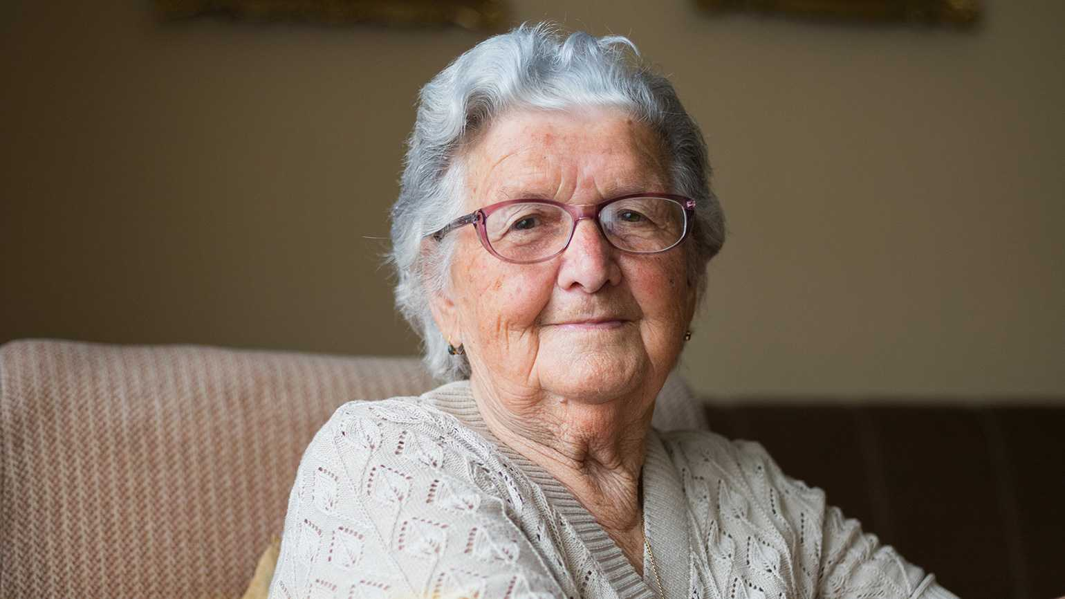 A senior woman; Photo by Dobrila Vignjevic, iStock/Getty Images Plus