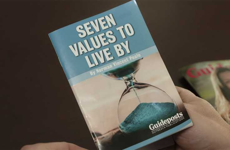 7 Values to Live by, Dr. Norman Vincent Peale's free booklet from Guideposts