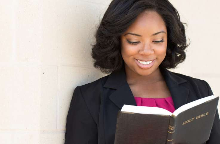 Build spiritual strength by reading the Bible daily.