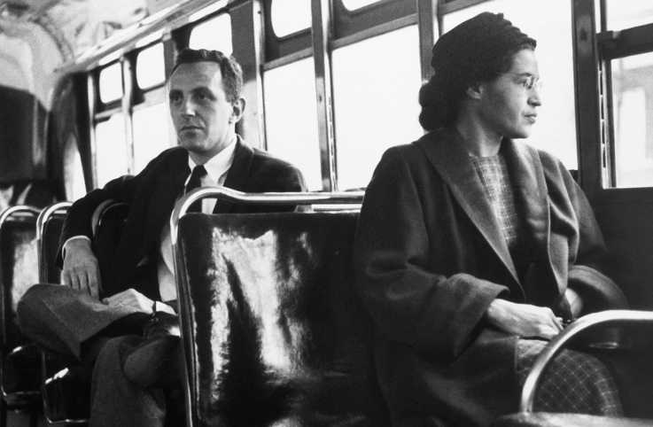 Rosa Parks in Montgomery, Alabama