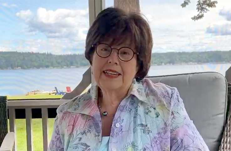 Best-selling author Debbie Macomber