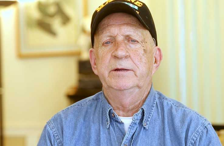 Marine veteran Don Embrey
