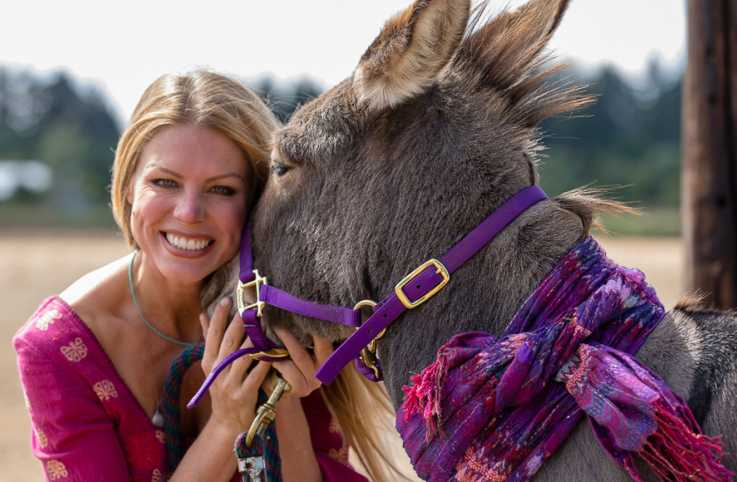 The Donkey That Saw Her Through Her Grief
