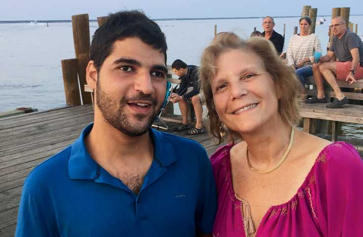 Carol Glazer and son Jacob; photo courtesy Carol Glazer