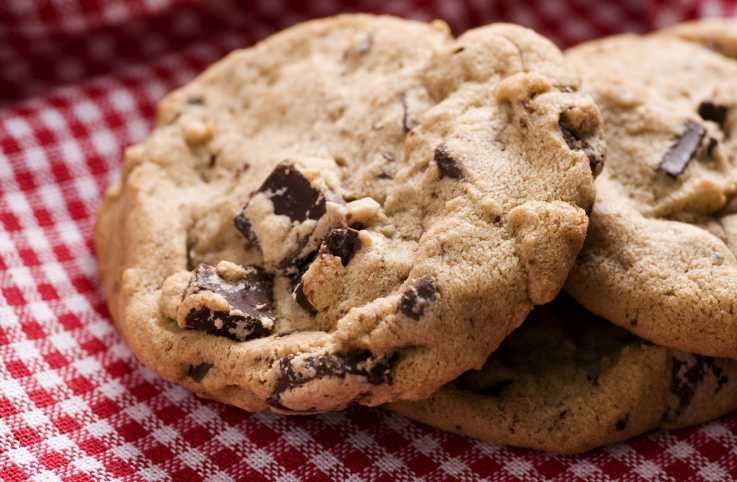 Chocolate chip cookies; Getty Images