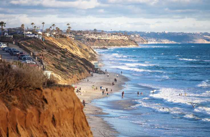 Coastal view. Encinitas, California; Getty Images