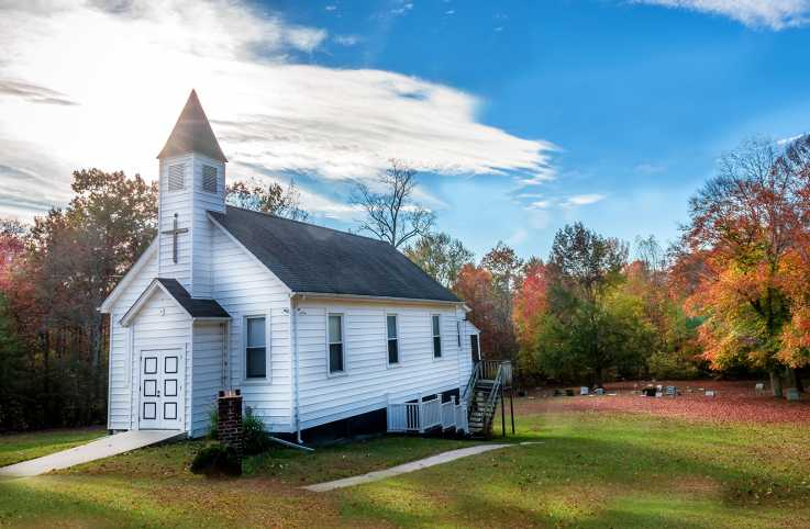 A small country church