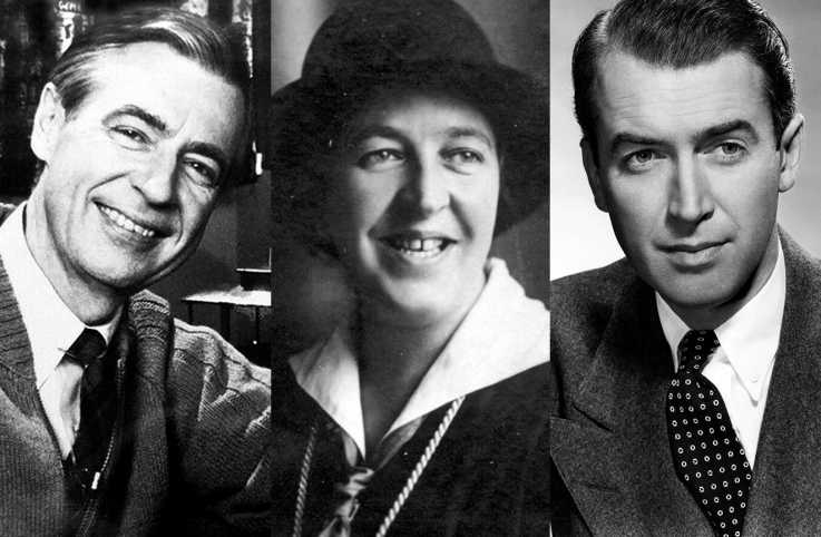 Fred Rogers, Corrie ten Boom and James Stewart