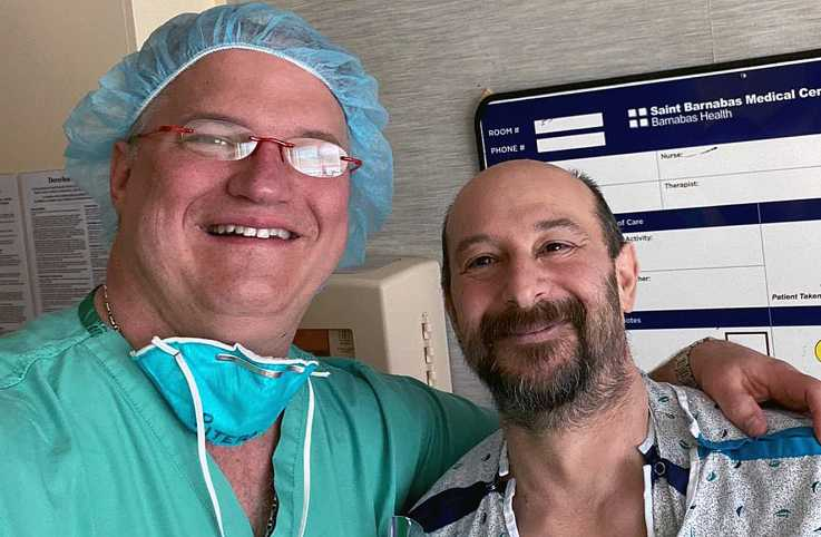 Dr. Rick Pitera helped Dan Radice survive COVID-19: photo courtesy Dan Radice