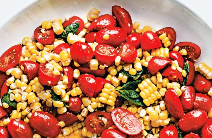 Fresh Tomato and Corn Mélange