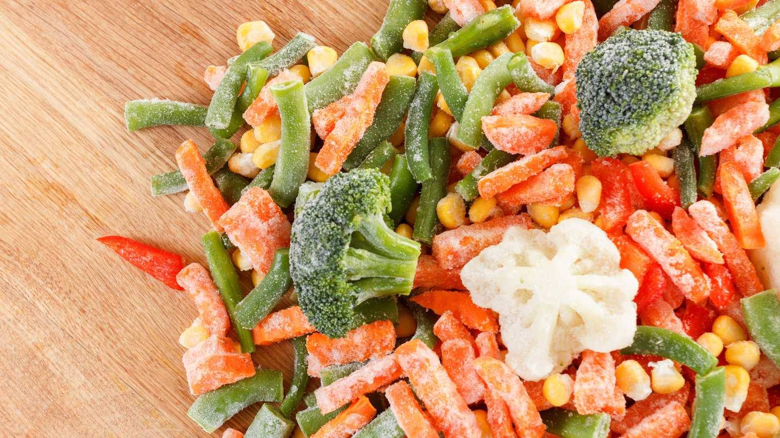 Affordable frozen veggies
