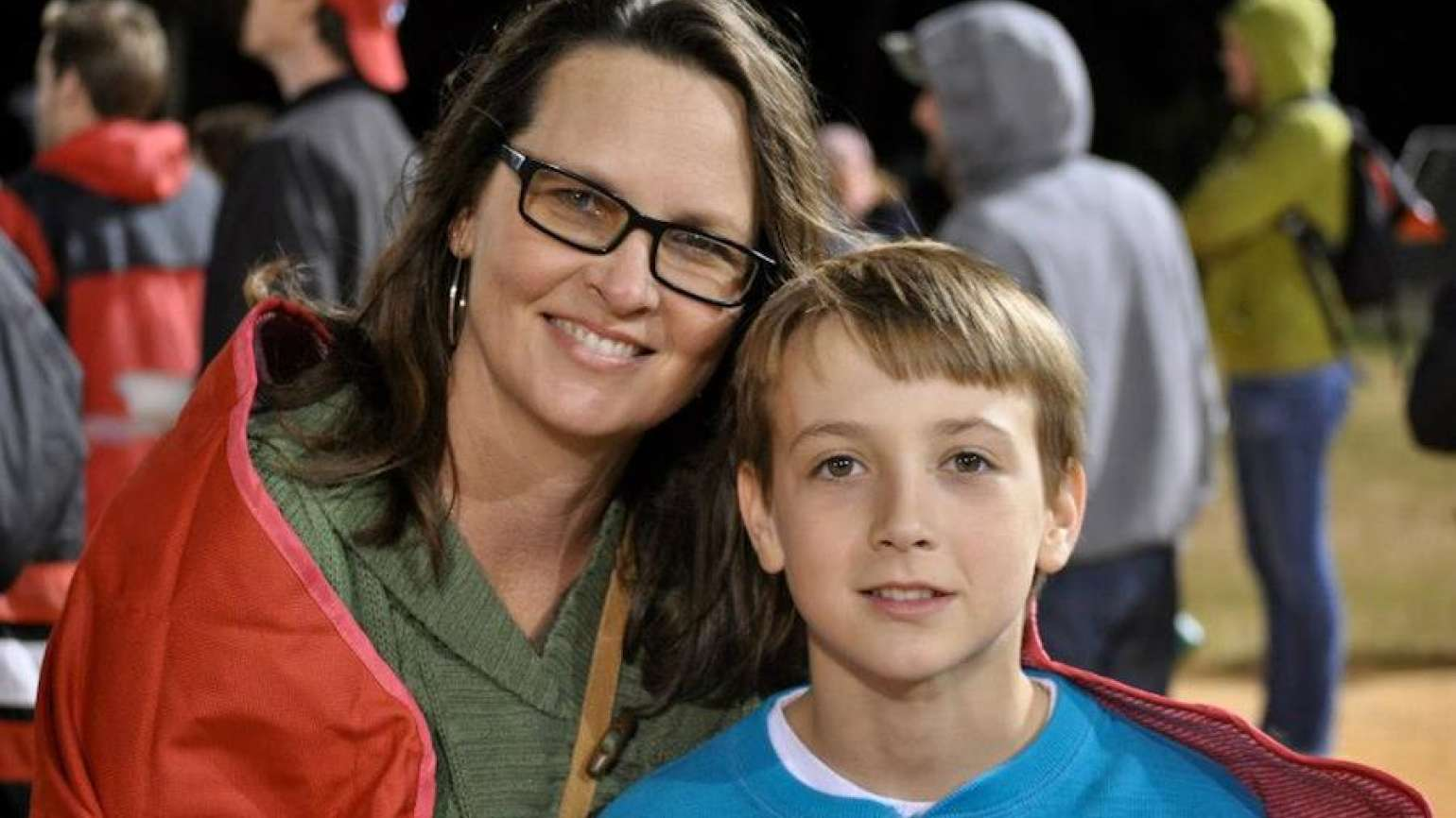 Patti and her son, Noah