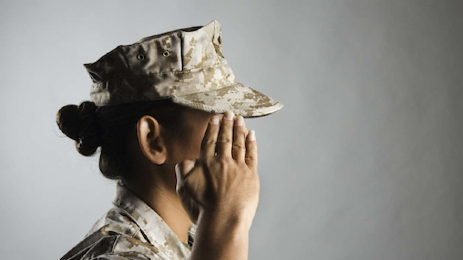 The kind of courage that inspires, from a military mom.