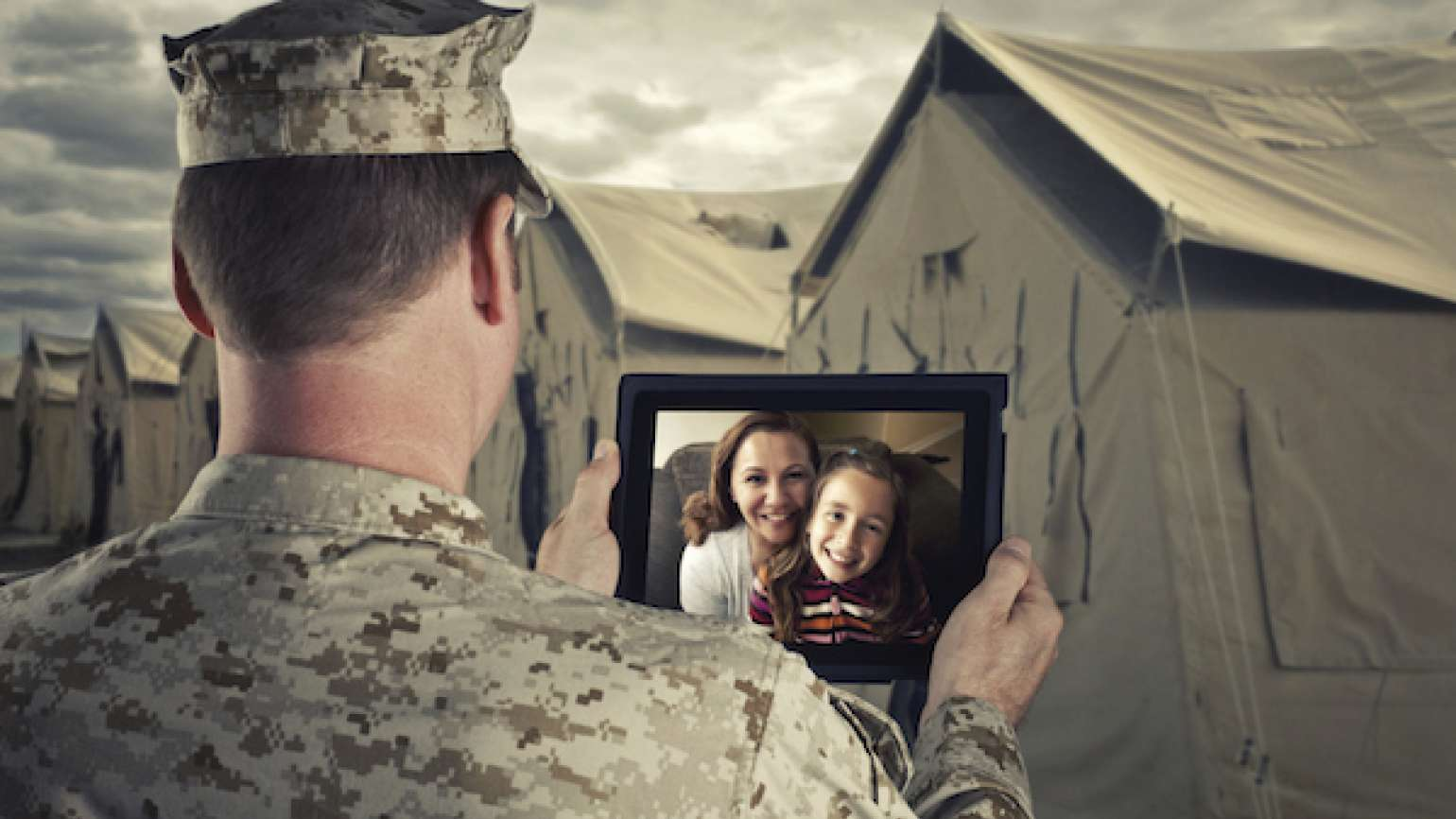 How military families can cope during stress of deployment when your soldier is away.