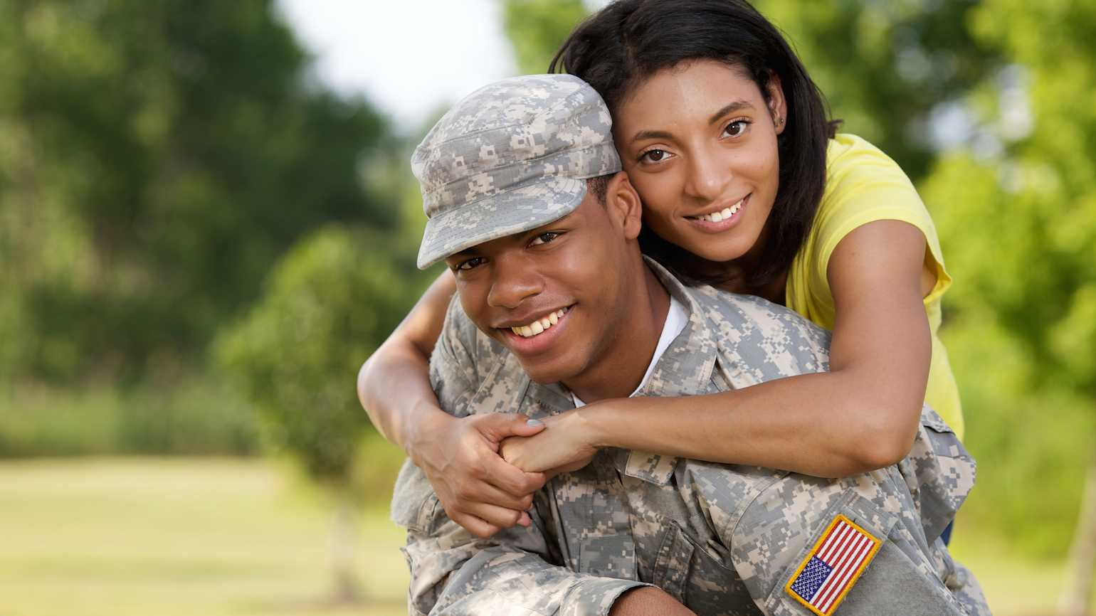 Support for a military family