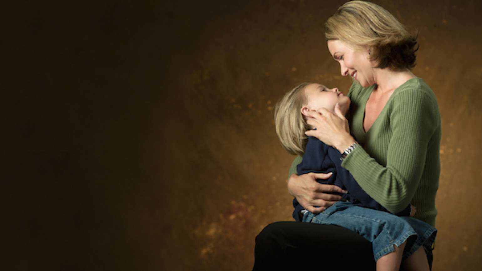 As a mother is close to her child, God wants to be close to us.