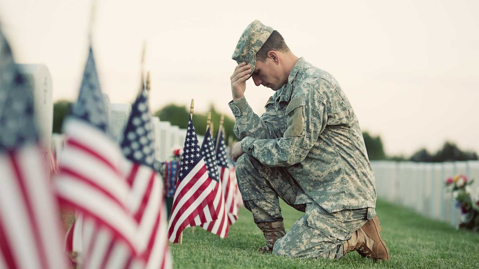 On Memorial Day, honoring those who gave their lives in service to their country