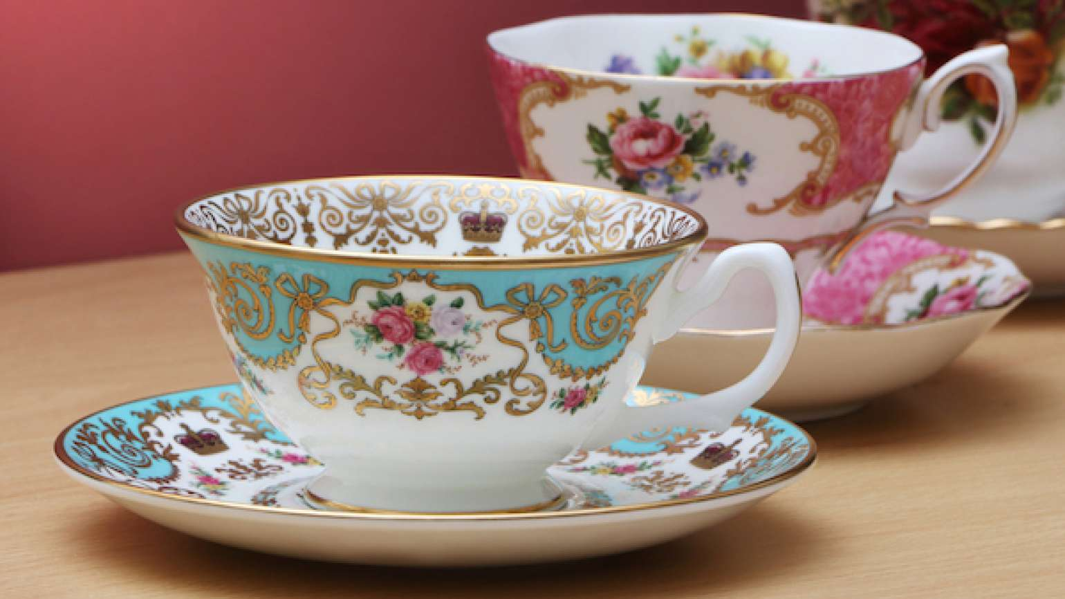 How the gift of a tea set brought healing.