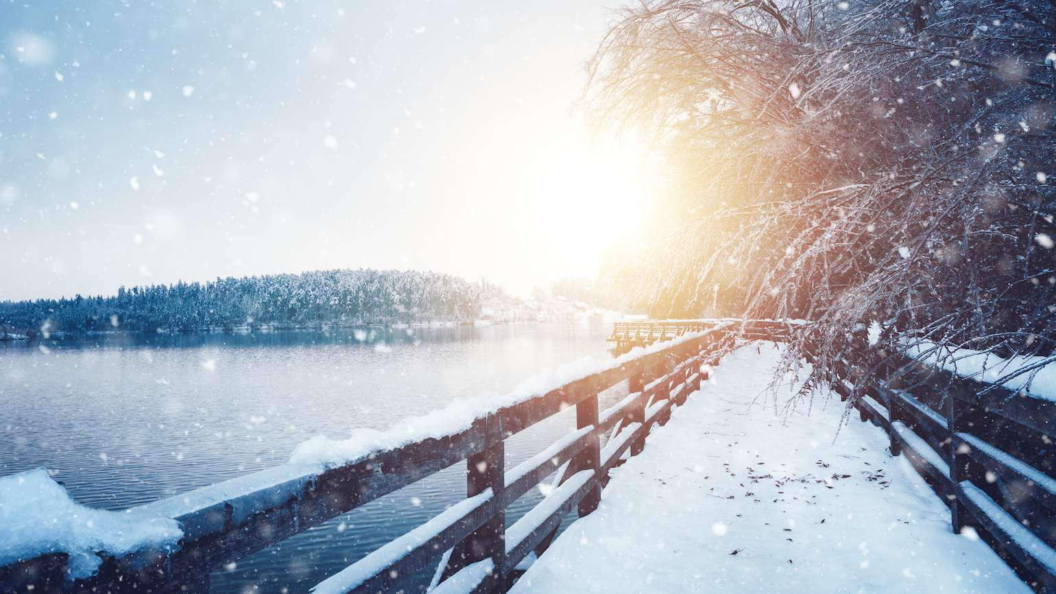 Finding more light and connection with God in short cold days of winter.