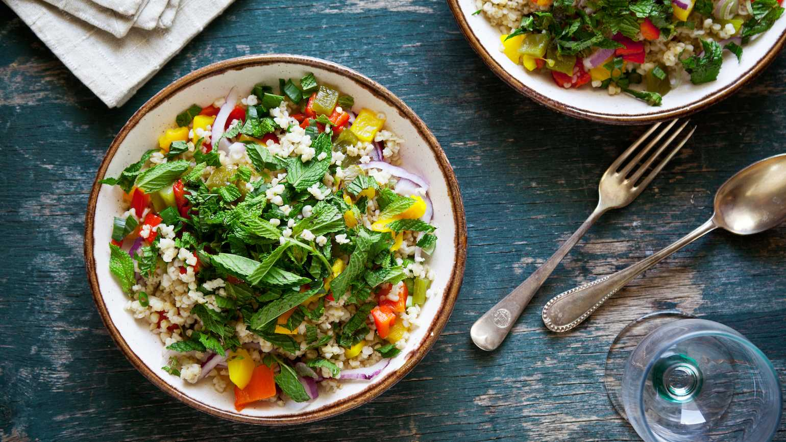 Grain salads for summer