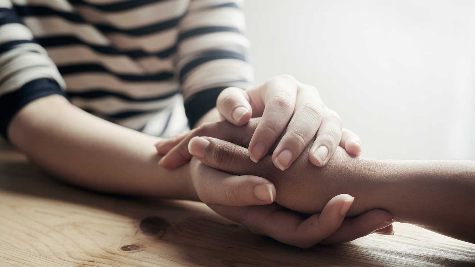 Comforting others in their grief
