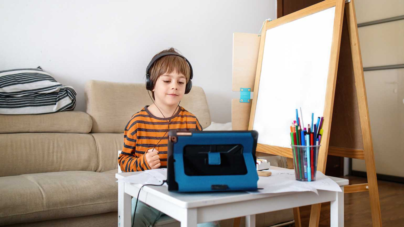 Positive tips for parents and remote learning