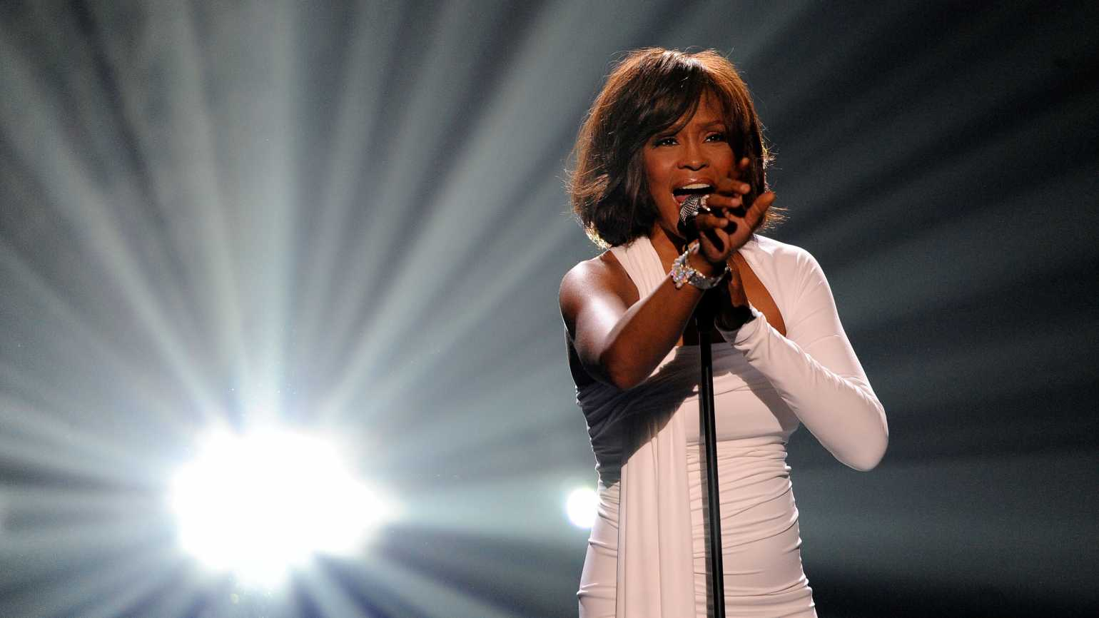 whitney houston, getty images