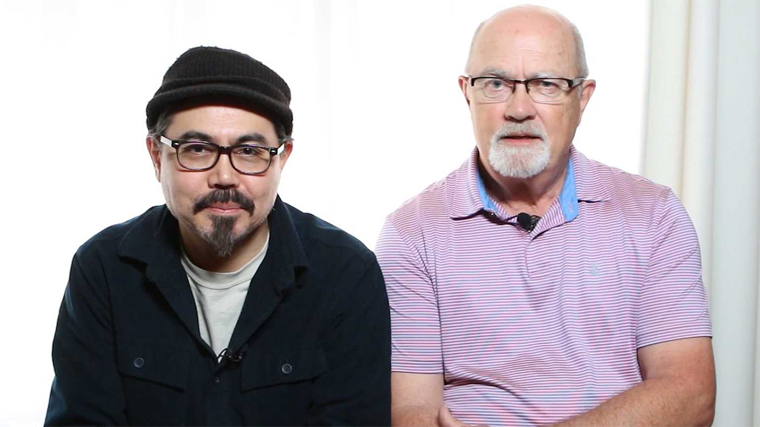Robert Nore (right) and his son Son Vo