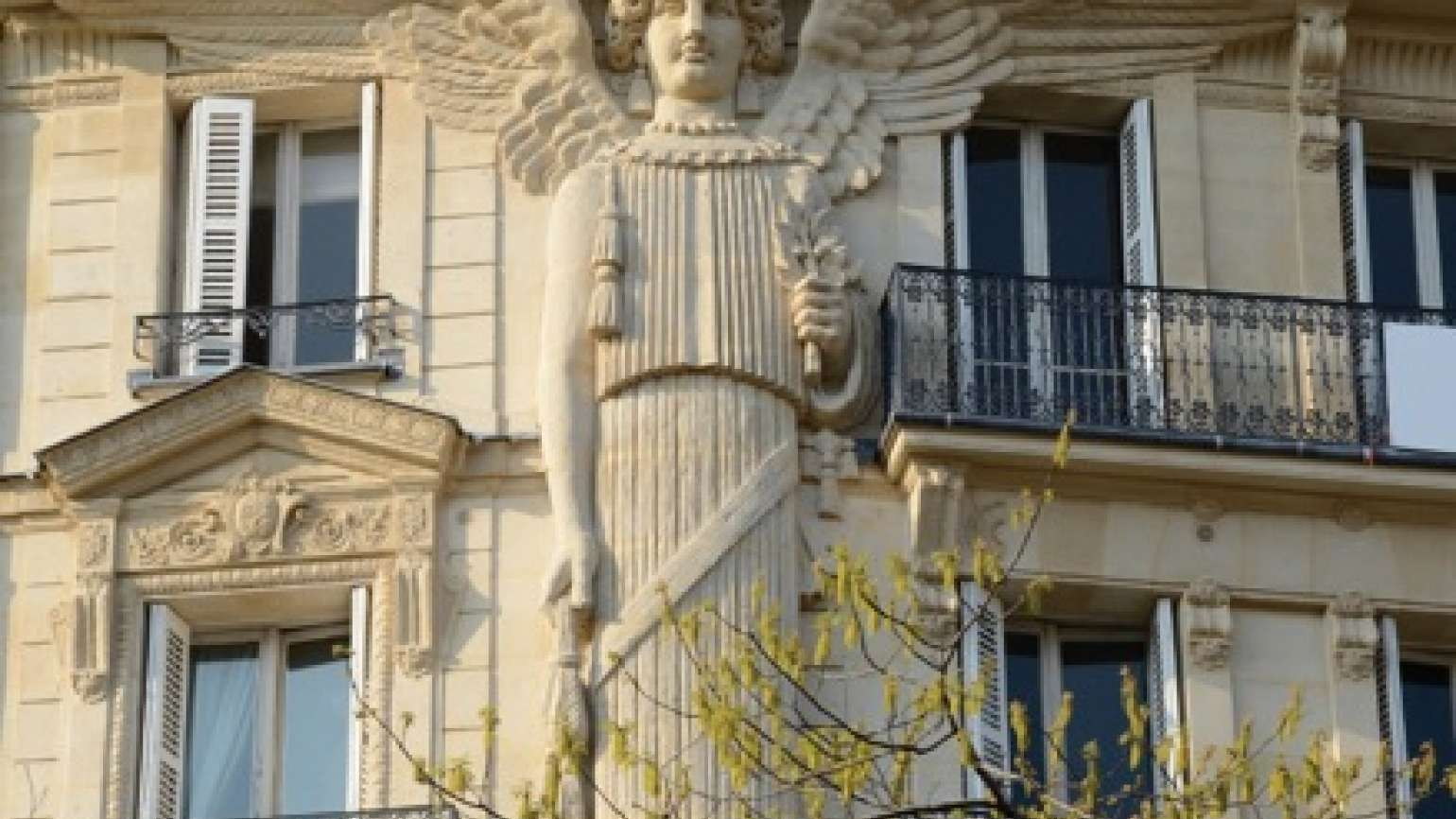 """An image from """"Angels of Paris"""" by Rosemary Flannery"""