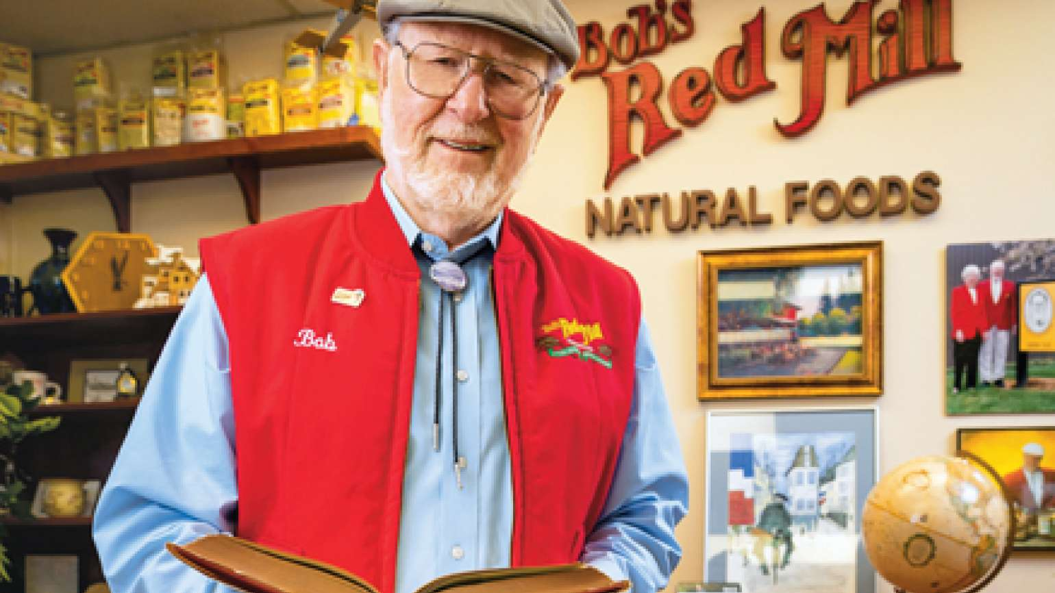 Bob Moore, founder of Bob's Red Mill natural foods