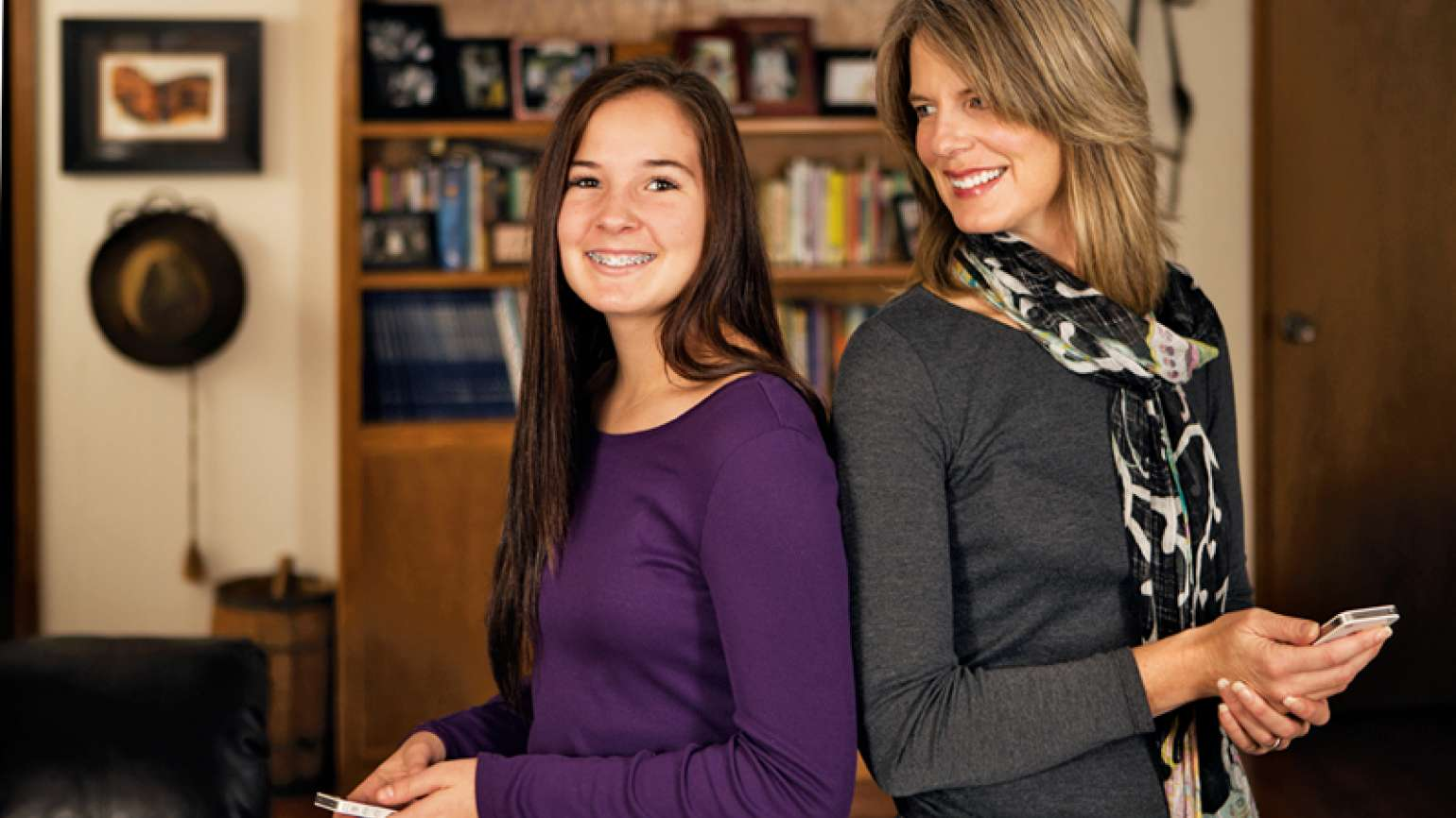 Catherine Madera and her daughter, Haley