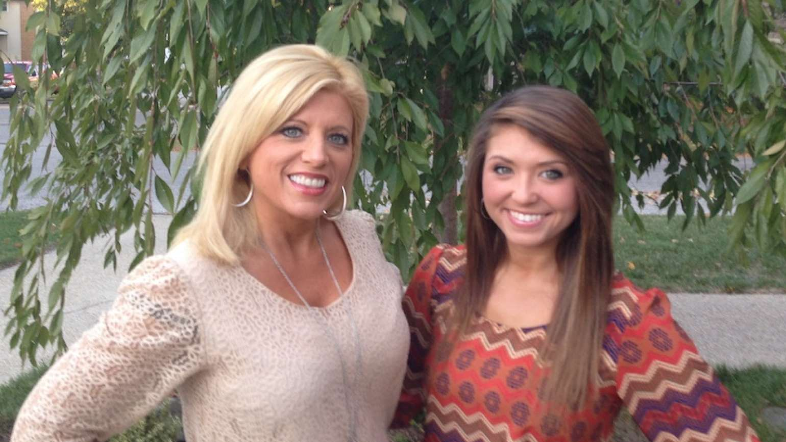 Michelle and her adored daughter, Abby.