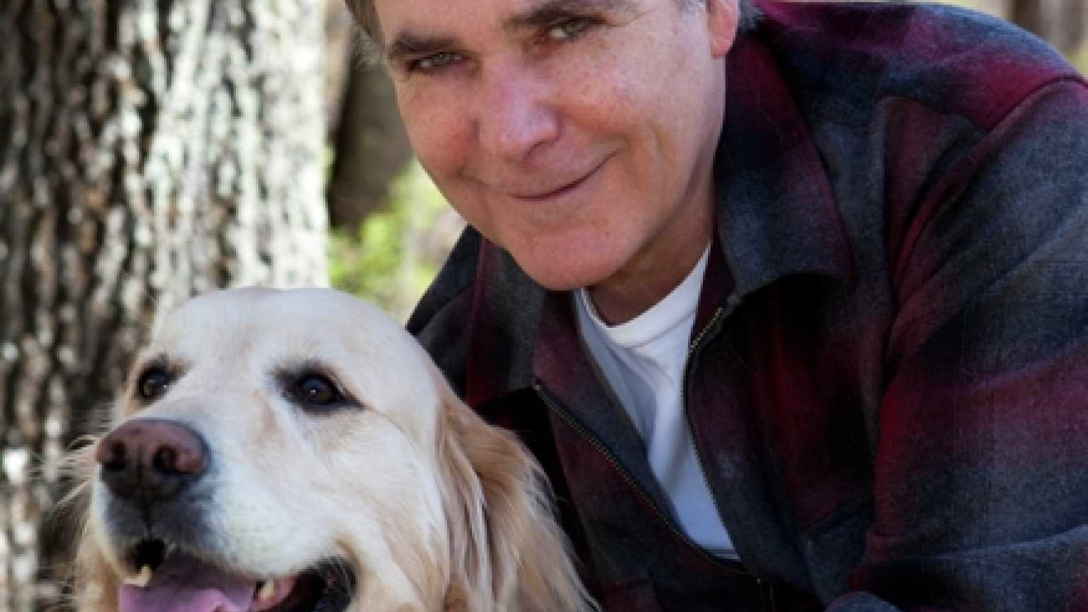 Guideposts Editor-in-Chief Edward Grinnan and his dog, Millie