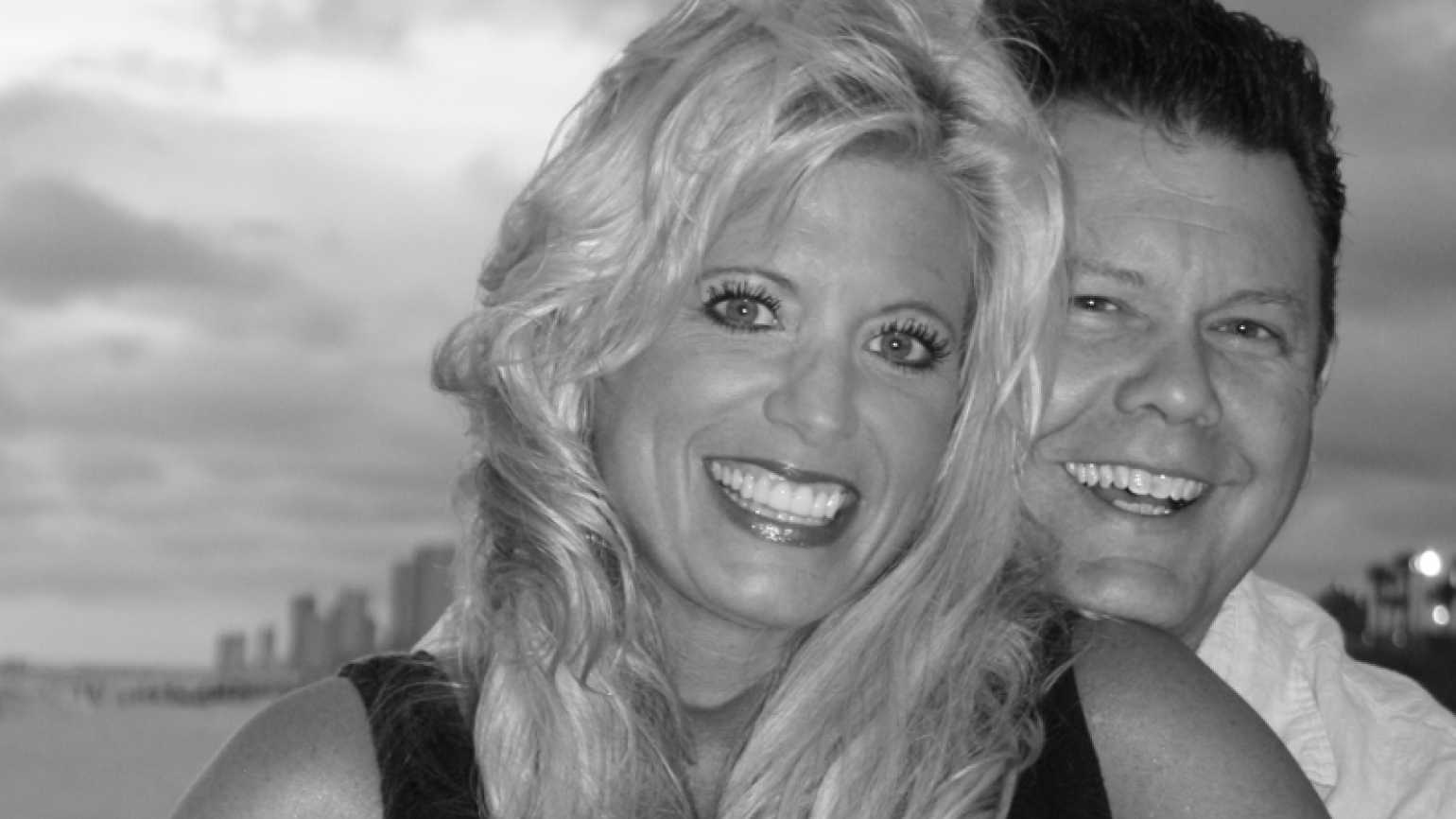 Inspirational Stories blogger Michelle Medlock Adams with her husband