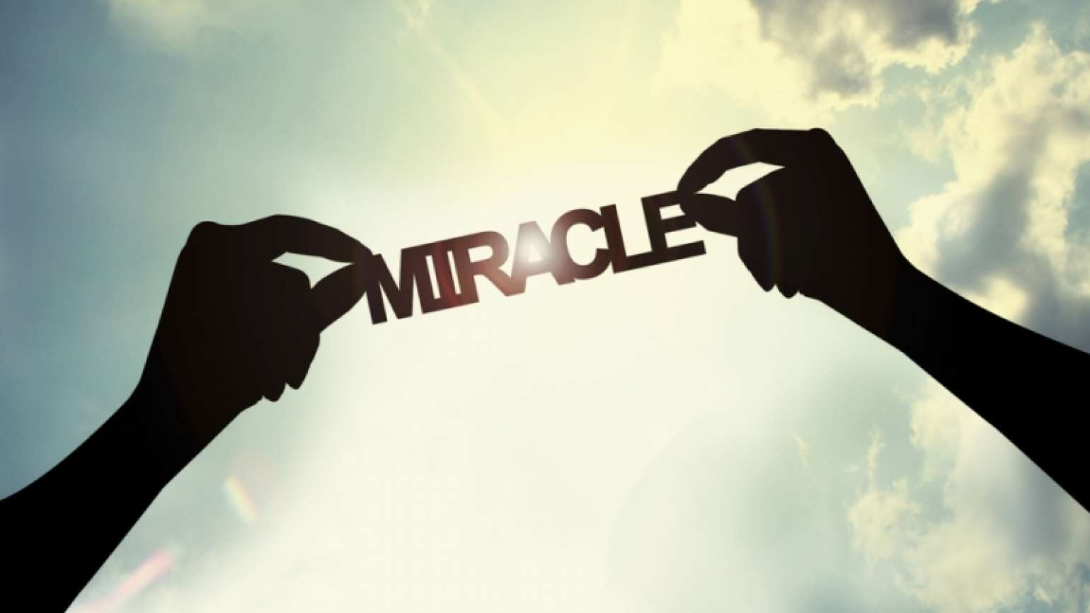 see miracles in your life: Shutterstock