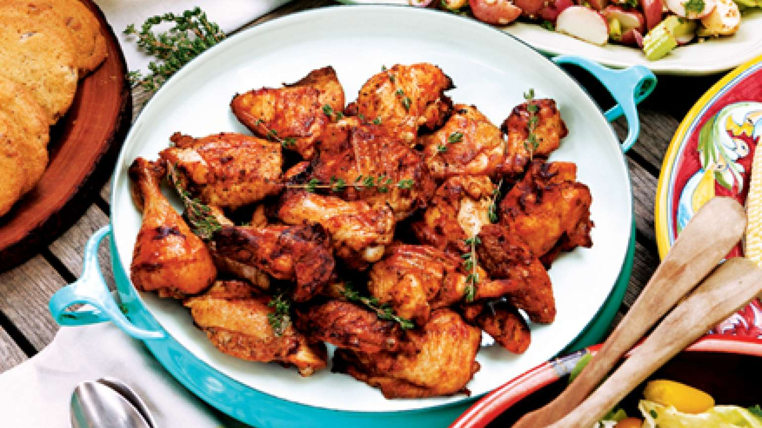 Savory Slow-Grilled Chicken