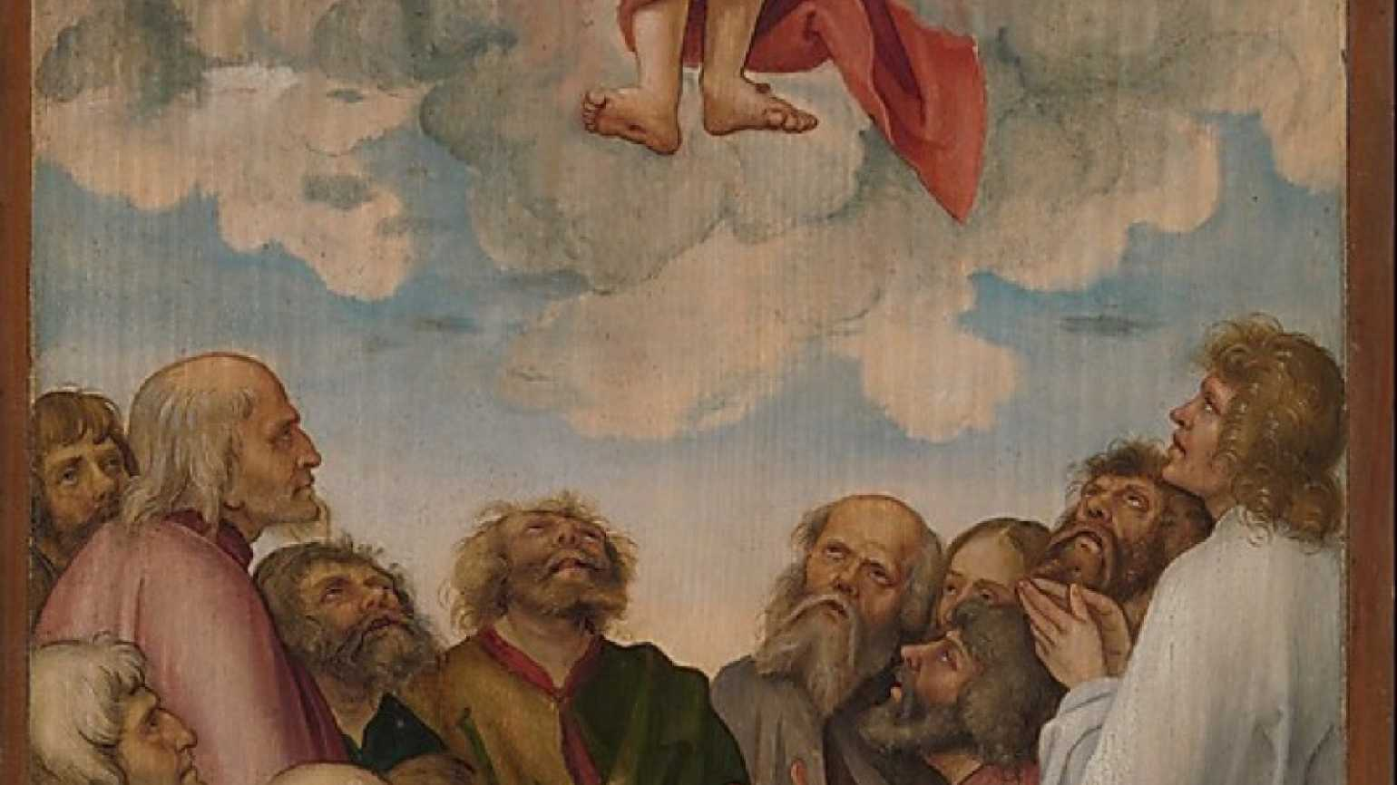 The Ascension of Christ by Hans Süss von Kulmbach from the Metropolitan Museum