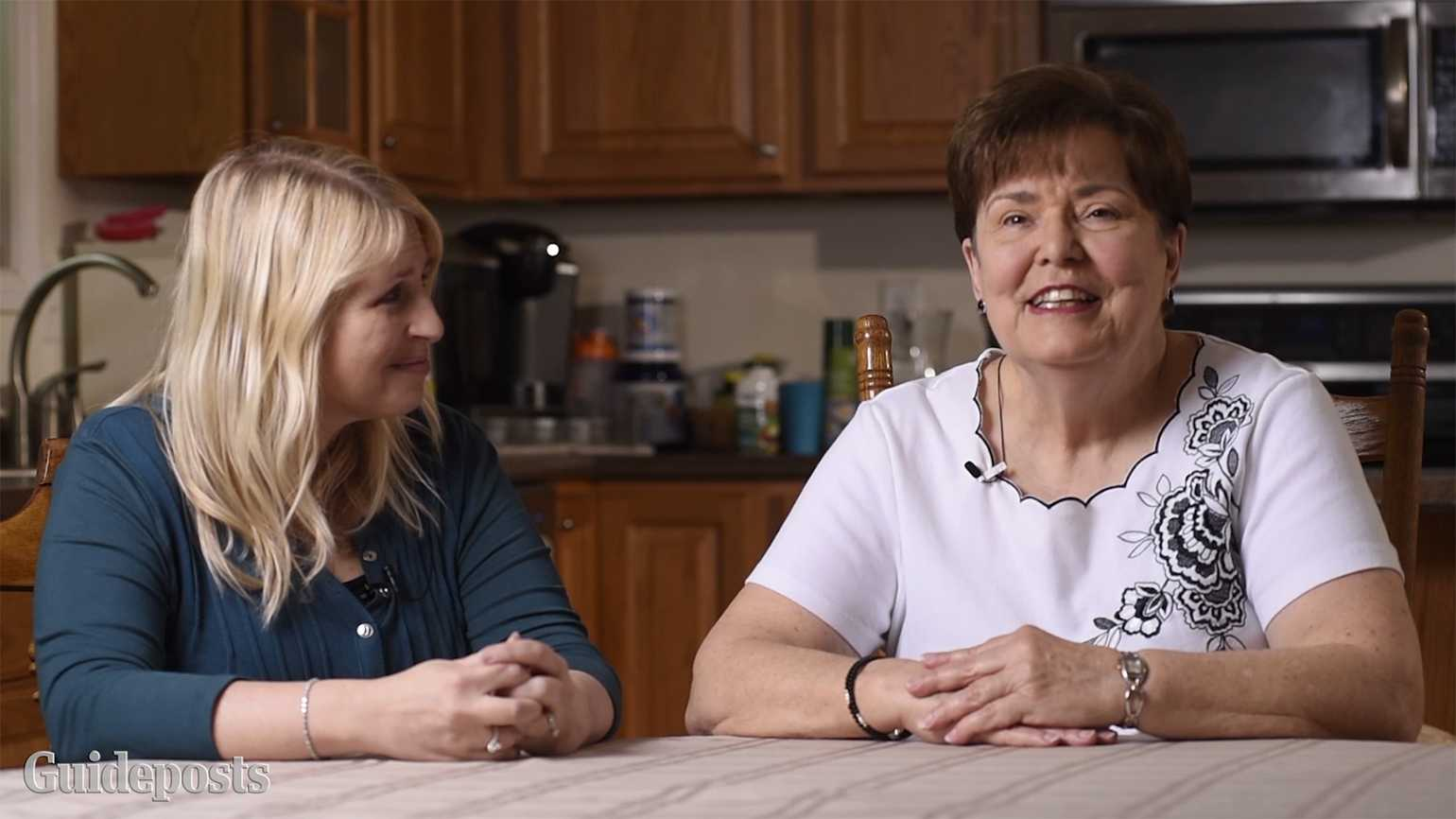 Diane Stark (left) and her mother-in-law, Judy