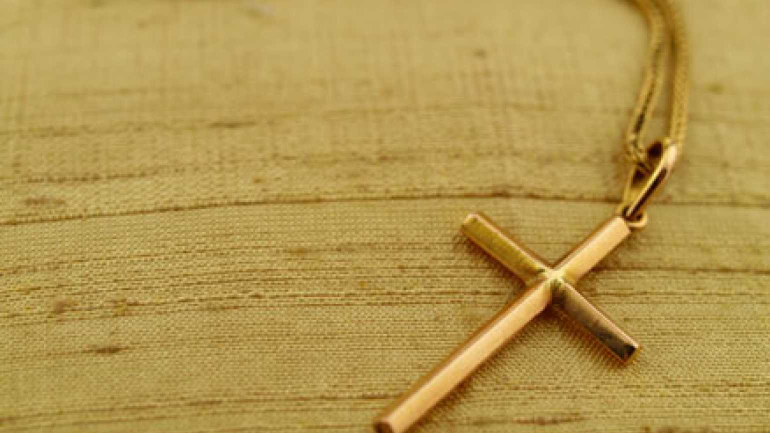 A gold cross