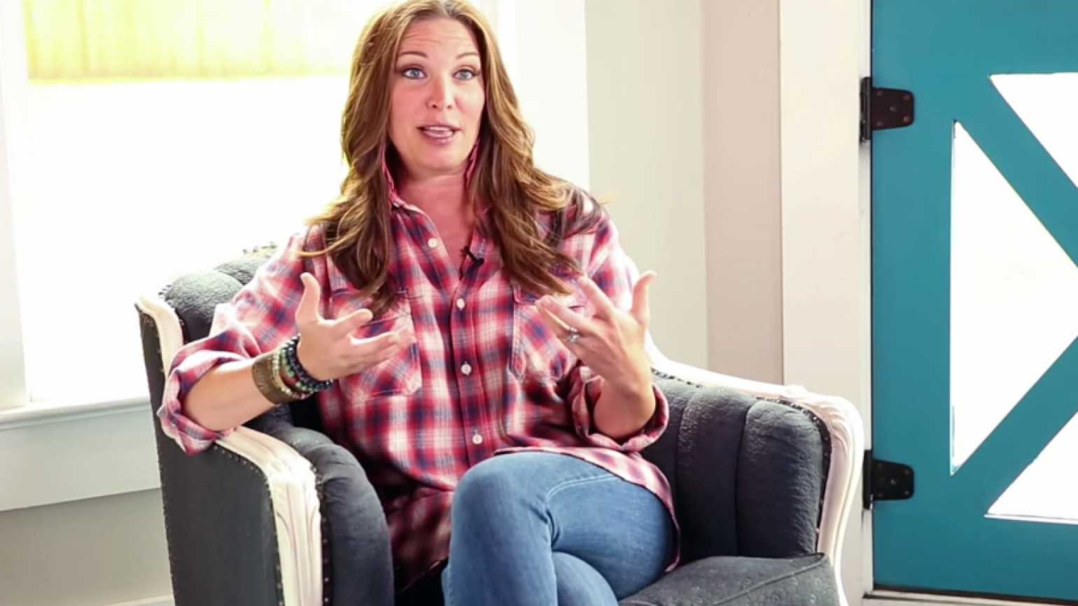 Author and TV personality Jen Hatmaker shares insights on how her faith informs her parenting.