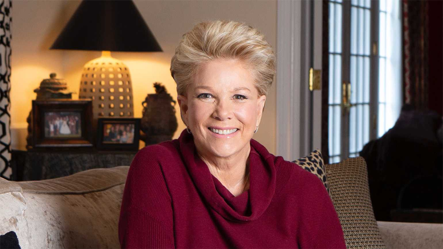 Journalist and author Joan Lunden