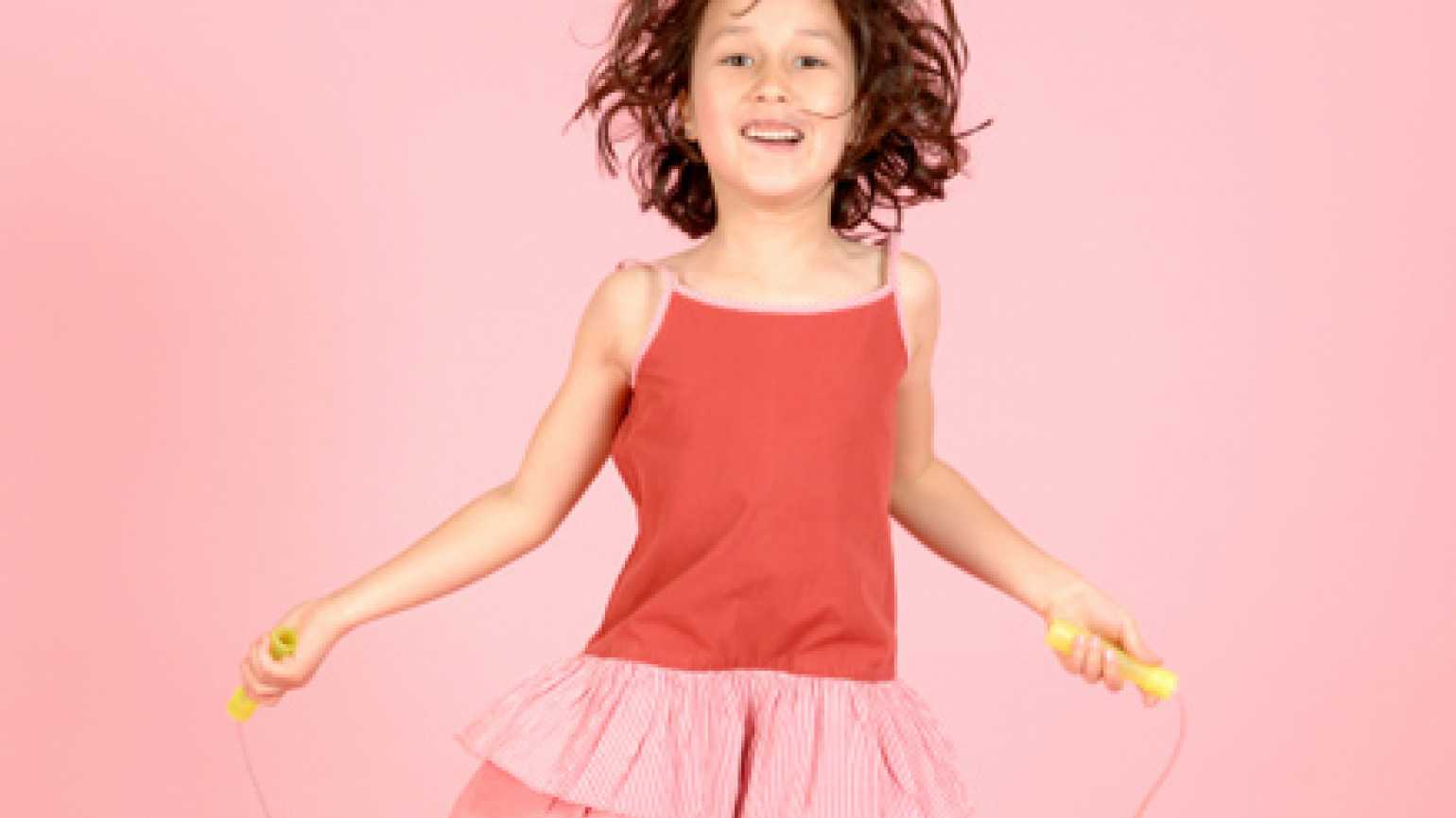 A girl joyously jumping rope inspired this Advent devotion from Patricia Lorenz.