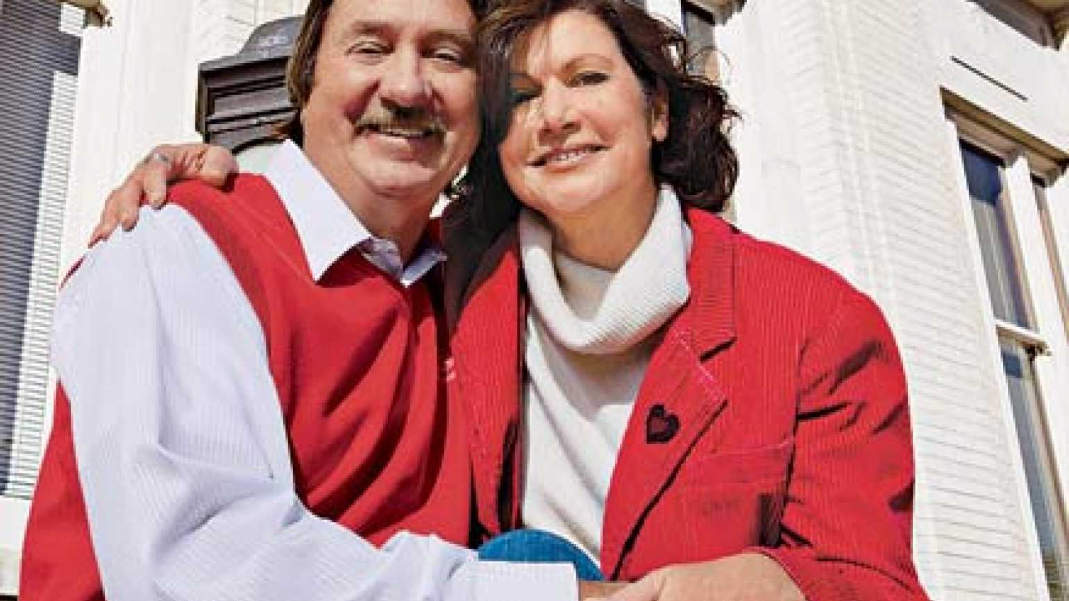 Duane Kaye and his wife, Jeanette