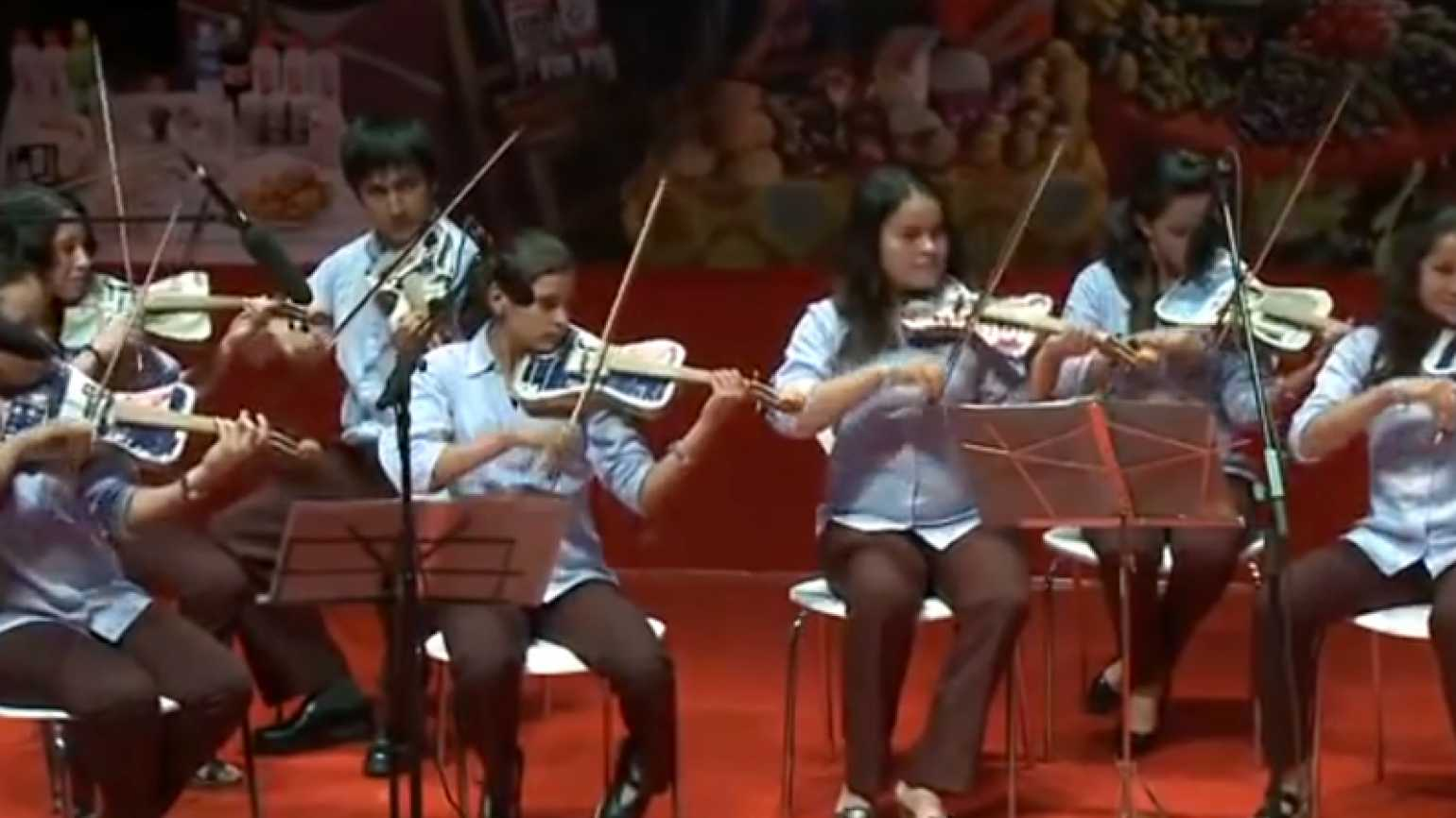"""The kids of Cateura and their """"Recycled Orchestra"""""""